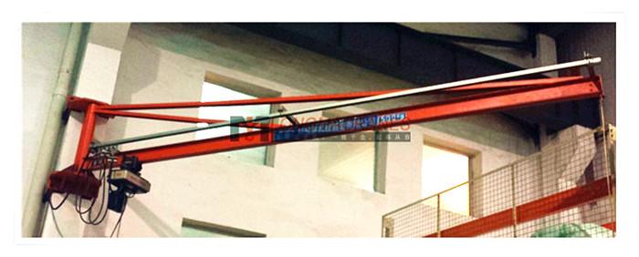 壁柱式旋臂起重机(气动)