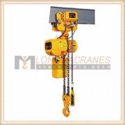 5t 电动小车运行式(双回链)单速环链电动葫芦