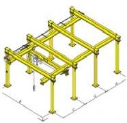 立柱式单梁悬挂起重机