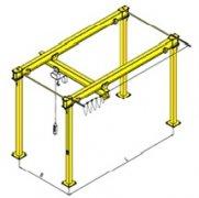 轻小型立柱式单梁悬挂吊